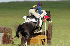 Class 2 Pairs. (David James Clelford Photography) Tags: uk horses sport crosscountry pairs xc wiltshire rider equestrian jamescameron 2ndplace larkhill huntertrials tedworthhunt class2pairs competitor100