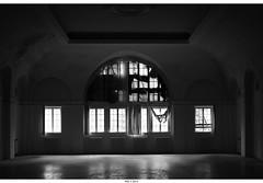 Haus der Offizieren (Strange Artifact) Tags: urban bw white black abandoned de decay haus olympus 18 exploration der zwart wit weiss schwarz ue 25mm urbex em10 wunsdorf oocjpeg mzuiko offizieren