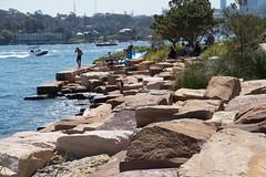 Barangaroo rocks (Val in Sydney) Tags: park sydney reserve australia nsw australie barangaroo
