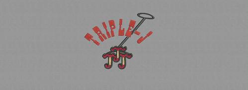 Triple J - embroidery digitizing by Indian Digitizer - IndianDigitizer.com