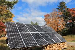 Solar PV installation in Gorham, ME