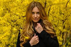 Sweet November (anastasiiarusakova) Tags: new november autumn girl beautiful beauty yellow model nikon au style