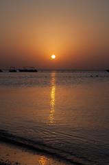 Hurghada - Egypt - Makadi bay - Sole all'alba (Stefano Guastalegname) Tags: africa sun holiday beach sunrise bay seaside redsea egypt vacanza vacanze hurghada makadi marrosso agitto