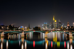 Ignaz Bubis Brücke Frankfurt am Main (Christian Krüger) Tags: am long exposure frankfurt main d750 nikkor brücke langzeitbelichtung 2470 ignaz bubis cklabswackersdorf