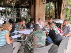 Goma, Nord-Kivu: Le vendredi 13 novembre, le BCNUDH,  de mme que  OCHA, OXFAM et le Conseil norvgien pour les rfugis ont organis la troisime d'une srie de tables rondes  Goma sur la protection des civils. (MONUSCO) Tags: peace peacekeeping nrc oxfam drc ocha rdc peacebuilding bcnudh unjhro