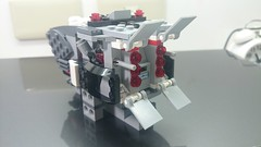 MOC: Imperial Stormtrooper Transport (Ship A, Weapon Storage (danielhuang0616) Tags: storm trooper star starwars lego stormtrooper imperial wars moc 2015 75078