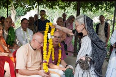 IMG_5433 (iskconmonk) Tags: festival prabhupada swami kartik prabhu brahmananda vrindavan iskcon swamiji sanyasi goshala iskconvrindavan