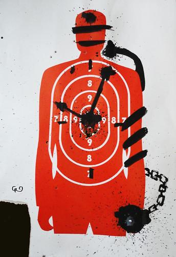 Serie_ VIOLENCIA SIN GENERO_Manipulación temporal _Acrílico sobre blancos de cartón75x54_Nov2015