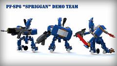 Go Team Spriggan! (phayze81) Tags: lego scifi sciencefiction mecha mech moc mfz mf0 mobileframezero bluerender