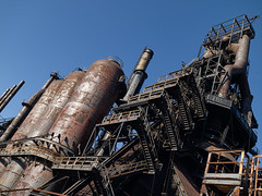 Bethlehem Steel Mill (6SN7) Tags: mill metal iron industrial pennsylvania steel furnace bethlehem ore mamiya645 leafaptus22
