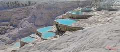 Pamukkale (ivandragutinovic) Tags: blue white lake pool turkey sony ivan pamukkale topf400 whater pikaso dragutinovic hx200v