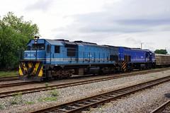 Botswana Railways BD 225 and BD 223, Francistown, Botswana. 28.11.2015. (Laurie Mulrine) Tags: botswana francistown botswanarailways bd225 bd223
