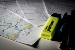 346/365 - Geography Revision (Forty-9) Tags: water pen canon paper studio december saturday rivers 365 geography highlighter softbox efs1785mmf456isusm stationary lightroom 2015 day346 project365 5hours strobist revsion diysoftbox efslens strobism 346365 speedlite430exii eos60d project3652015 rookietom 3652015 tomoskay 12thdecember2015