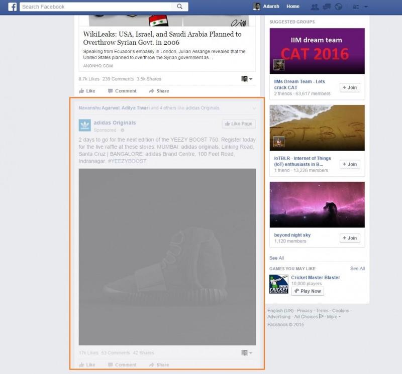 Extension នេះនឹងជួយលុបបំបាត់ចោល នូវផ្ទាំងពាណិជ្ជកម្ម ទាំងឡាយ ដែលមាននៅក្នុង Facebook បានមួយរំពេចតែម្តង