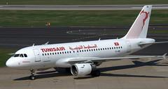 Airbus A-319 TS-IMK (707-348C) Tags: dusseldorf eddl dus airbusa319 passenger airbus airliner jetliner a319 tsimk tar tunisair