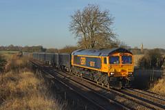 66747 Copleys Brook,Melton (Gridboy56) Tags: gbrf wellingborough northamptonshire uk england emd europe mountsorrel leicestershire class66 shed gm 6f00 copleysbrook meltonmowbray 66747 railways railroad railfreight trains train locomotive locomotives