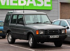 L539 GVS (Nivek.Old.Gold) Tags: 1993 land rover discovery tdi 5door 2495cc mannegerton stalbans