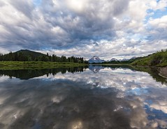 Reflections of Mount Moran (kellyandjaffe) Tags: moran wyoming unitedstates us grandtetonnationalpark grandtetonnp mountmoran reflections clouds nationalpark canon6d canon grandtetonnationalparkwy oxbowbend