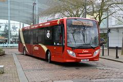 Redline Ex-GHA Ruabon ADL Enviro 200 YX64VRG in Milton Keynes (Mark Bowerbank) Tags: redline exgha ruabon adl enviro 200 yx64vrg milton keynes