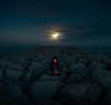 Soledapp (Ibai Acevedo) Tags: x portraits cellphone intermitencia isolated aislado desierto night noche sea mar dark oscuro loneliness online tinder modern