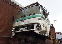 AJL564T (scouse73) Tags: tk bedford scrap lorry truck cab
