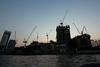 Cranes (Adam_BT) Tags: cranes buildingsite construction sunset river bangkok chaophrayariver silhouette thailand