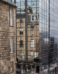 On the Face of It (don't count the pixels) Tags: scotland glasgow buildings architecture reflection glass street oldandmodern