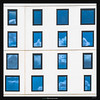 Sixteen (Ilan Shacham) Tags: windows architecture abstract minimalism reflection sky blue clouds fineart fineartphotography telaviv israel symmetry pattern repetition geometry