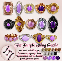 !IT! - The Purple Thing Gacha Image (IT! (Indulge Temptation!)) Tags: it itindulgetemptation indulgetemptation secondlife twe12ve gacha exclusive event