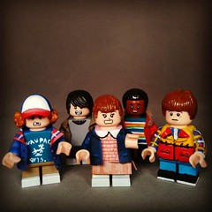 Hey guys i'm back !  This is my new Custom based on the TV serie Stranger Things , this is the First wave Hope you like It and Stay tuned for the next waves of minifigs !!  #strangerthings #IMC #eleven #iacopo #custom #legostrangerthings (-iacopo / Minifigures / Custom-) Tags: custom iacopo eleven imc strangerthings legostrangerthings lego stranger things italia italy sclpt clay will dmogorgone 2016 2017 season2 sculpt fimo demogorgone