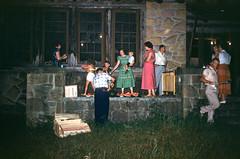 Mother, Chuck Square Dance Club watermelon picnic Bartlett Park Middlesboro KY July 1954.jpg (buddymedbery) Tags: middlesboro years 1954 family kentucky unitedstates 1950s buddymedbery chuck mother