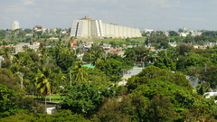 Dominican-Republic - Santo Domingo: Faro a Colón, the Christopher Columbus Monument (Traveller-Reini) Tags: columbus colonstatue dominicanrepublic domrep santodomingo centralamerica island insel caribbean karibik weltwunder weltstadt hauptstadt capital
