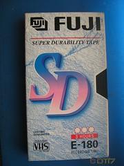FUJI - Blank Tape (daleteague17) Tags: blank vhs tapes blankvhstapes pal palvhs videotape blankvideotape fuji
