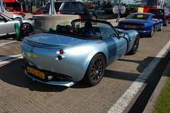 TVR Tamora (D's Carspotting) Tags: tvr tamora france coquelles calais blue 20090614 wj55hgc le mans 2009 lm09 lm2009