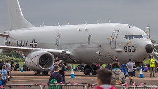 US Navy Boeing P-8 Poseidon 853