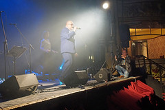 Reggie Mental Band playing the charity ska alldayer, Morecambe Winter Gardens (Gidzy) Tags: ska reggae punk mod skinhead reggiemental morecambe lnchasire teenagecancertrust lancashire oi music spiritof69 bootsnbraces dms docs twotone skins punks mods suedehead moody atmospheric smokey liivemusic stage british english wintergardens lancaster theatre historic old