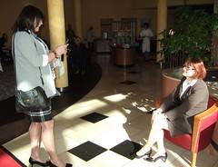 Pictures (Marie-Christine.TV) Tags: feminine transvestite lady mariechristine skirtsuit kostüm tgirl tgurl tv secretary sekretärin