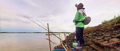 fishing at the dam (Matt Jones (Krasang)) Tags: thailand fishing stitch dam hugin voigtlandernokton175mmf095