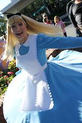 Alice (MediumHero6) Tags: face orlando mine florida alice character parks disney wdw waltdisneyworld mk magickingdom fantasyland aliceinwonderland disneyparks facecharacter