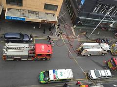 Hindley Street from above (adelaidefire) Tags: fire south australian service sa metropolitan mfs samfs