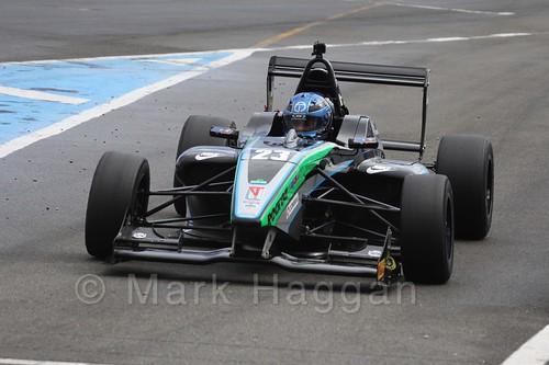 Sean Walkinshaw Racing's Jordan Albert in BRDC F4 at Donington Park, September 2015