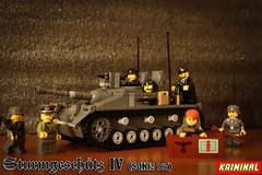 Stug IV (kr1minal) Tags: tank lego nazi wwii german iv moc stug4 brickmanialinks