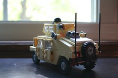 M1151 HMMWV (ModernBrix) Tags: army us google war lego military iraq legos humvee hmmwv armored carrier m1151