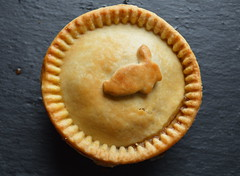 Rabbit Pie (Tony Worrall Foto) Tags: uk england  food rabbit make menu pie yummy nice dish photos tag cook tasty plate eaten things images x tony made eat foodporn add meal taste dishes cooked tasted grub iatethis foodie flavour 2015 plated foodpictures worrall ingrediants picturesoffood photograff foodophile 2015tonyworrall