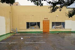 Secured by ADT (rickele) Tags: parkinglot vacant stockton outofbusiness defunct downtownstockton securedbyadt