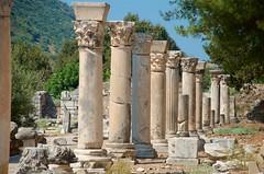 Marketplace Columns (hecticskeptic) Tags: turkey ephesus libraryofcelsus templeofhadrian bouleuterion nymphaeumtraiani markamorgan