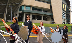 Battle of the Bands 2015 10 (Wolfram Burner) Tags: oregon university state stadium performance band bob battle uo marching burner uofo universityoforegon hs botb autzen wolfram statewide