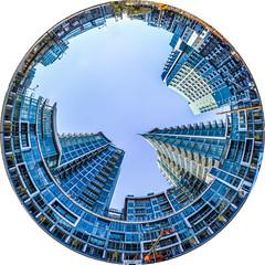bosa ball (pbo31) Tags: sanfrancisco california city november blue urban color skyline circle nikon over bayarea planet polarized missionbay 2015 pbo31 d810 bourt