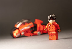 Kaneda (_Tiler) Tags: anime bike lego manga motorcycle akira cyberpunk kaneda otomo katsuhiro