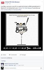 Page Facebook cherie fm côte basque